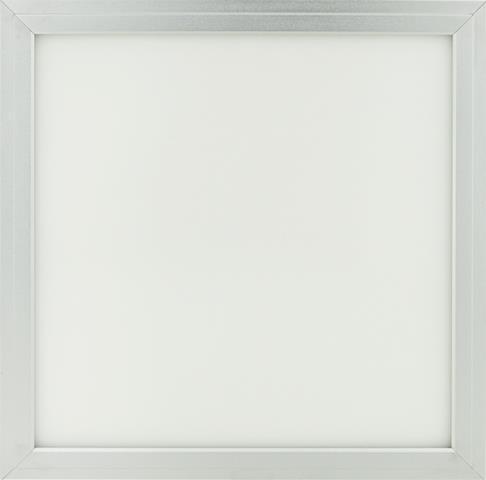 Silber LED Deckenpanel 300 x 300mm 18W Warmweiß (0-10V)