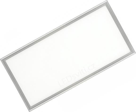 Silber LED Deckenpanel 300 x 600mm 30W Tageslicht (0-10V)
