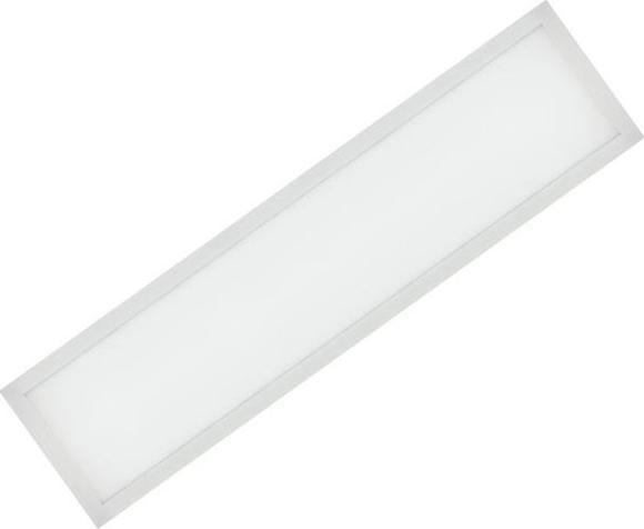 Weißes LED Einbaupanel 300 x 1200mm 36W Warmweiß (0-10V)
