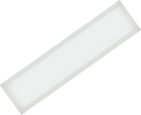 Weißes LED Einbaupanel 300 x 1200mm 48W Tageslicht (0-10V)
