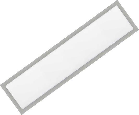 Silber LED Einbaupanel 300 x 1200mm 36W Warmweiß (0-10V)