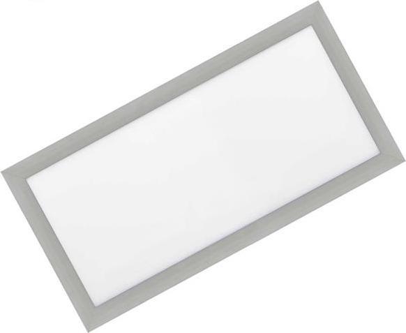 Silber LED Einbaupanel 300 x 600mm 30W Tageslicht (0-10V)