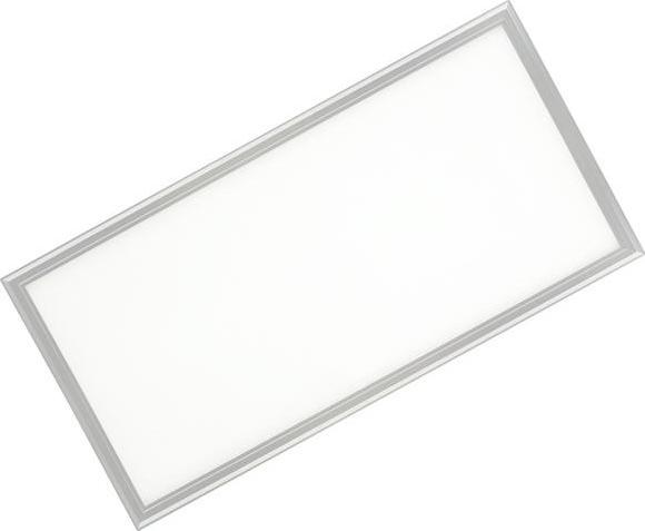 Silber LED Hängepanel 600 x 1200mm 72W Tageslicht (0-10V)
