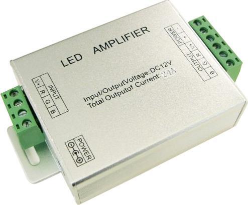3 Kanäle verstärker RGB signalu 12-24V 288W