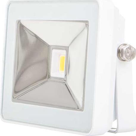 Weisser LED Strahler 10W SLIM Tageslicht