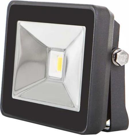 Schwarzer LED Strahler 10W SLIM Tageslicht