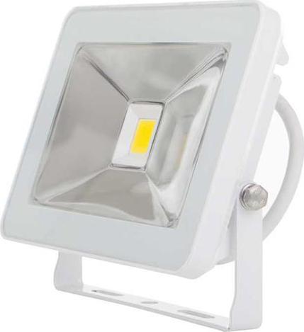 Weißer LED Fluter 20W SLIM Tageslicht