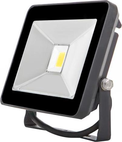 Schwarzer LED Strahler 20W SLIM Tageslicht