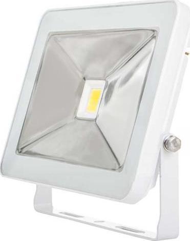 Weisser LED Strahler 30W SLIM Tageslicht