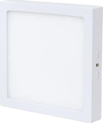 Weißes LED Aufbaupanel 300 x 300mm 25W Tageslicht