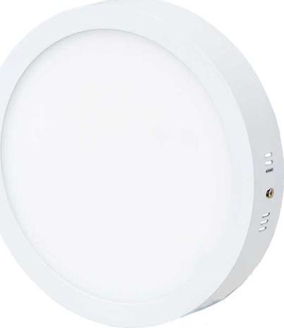 Weißes rundes LED Aufbaupanel 300mm 25W Tageslicht
