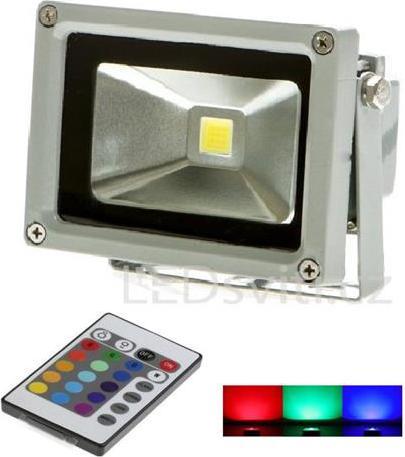 Siberner RGB LED Strahler 10W mit IR entfernten bedienungem