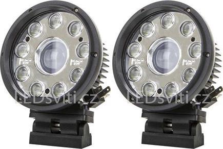 Runder vordere LED lichtmet mit entfernten licht 42W 12-36V