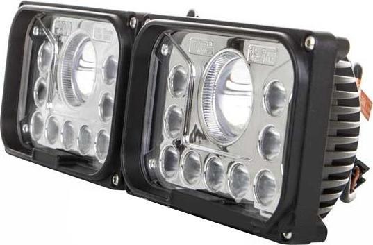 Hranatý vordere LED lichtmet mit entfernten licht 42W 12-36V