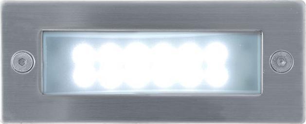 Eingebaute außen LED lampe 0,7W 45 x 110mm Kaltweiß