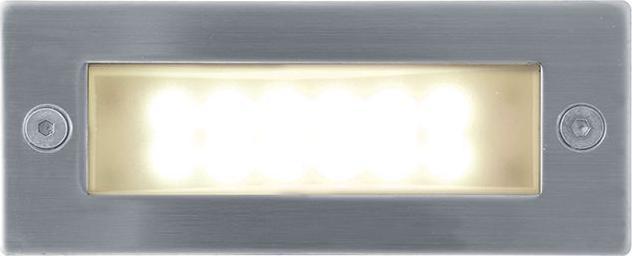Eingebaute Außenleuchte LED 45 x 110mm Warmweiß