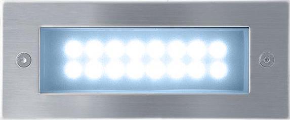 Eingebaute außen LED lampe 1W 70 x 170mm Kaltweiß