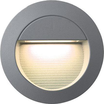 Eingebaute außen LED lampe 0,8W 120mm Warmweiß