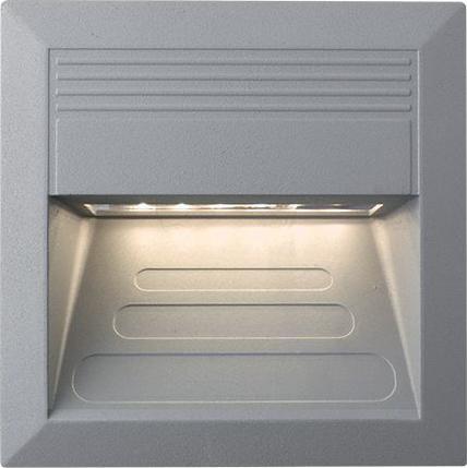 Eingebaute außen LED lampe 1,1W 135 x 135mm Warmweiß