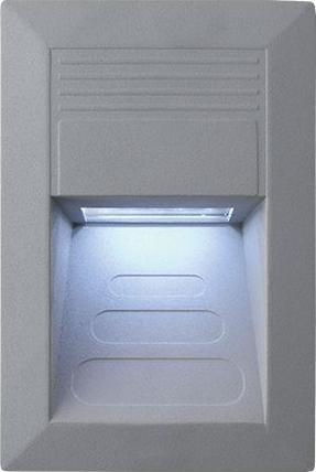 Eingebaute Außenleuchte LED 135 x 90mm Kaltweiß