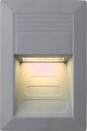 Eingebaute Außenleuchte LED 135 x 90mm Warmweiß