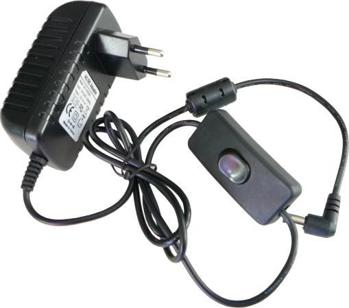 Netzteil mit Schalter 12V 2A 24W IP20