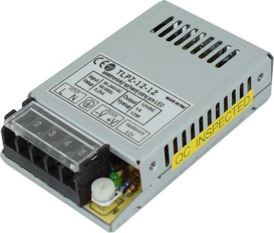 Trafo 12V 1A 12W IP20