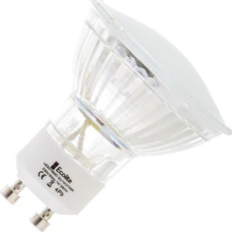 LED žiarovka GU10 7W 21SMD denná biela