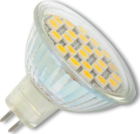 LED lampe MR16 4,5W 12SMD Warmweiß