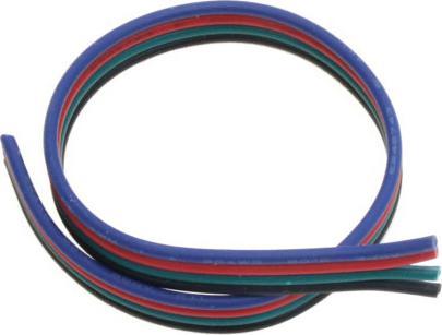 Flacher kabel RGB 4-adern 1m
