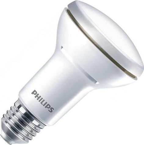 Philips dimmbare LED Lampe E27 R63 5,7W Warmweiß