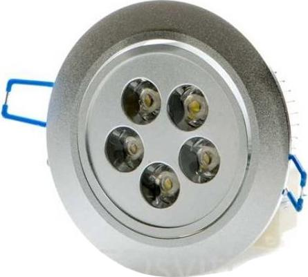 LED spotlicht 5x 1W Warmweiß
