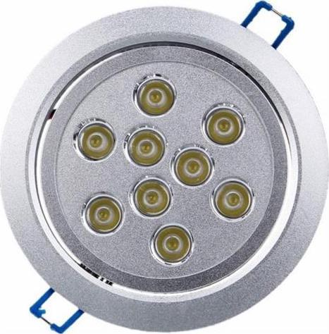 LED bodové svietidlo 9x 1W studená biela