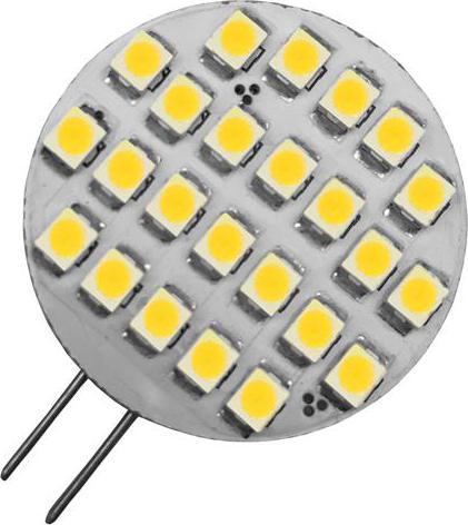 LED Lampe G4 1,5W rund Warmweiß