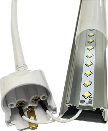 LED osvetlenie pod kuchynskú linku 120cm 18W T8 teplá biela