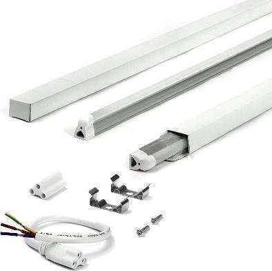 LED Küchenunterbauleuchte 120cm 18W T5 Tageslicht