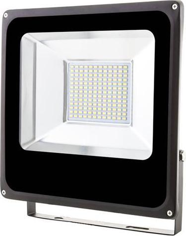 Schwarz LED Fluter 50W SMD Kaltweiß