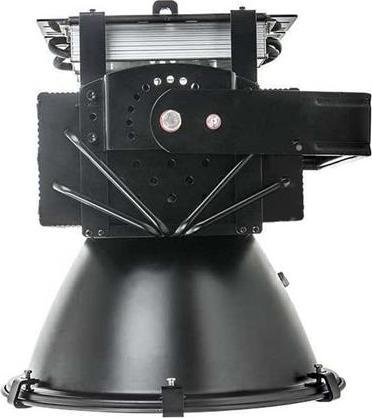 Schwarzer industriell LED Strahler 300W Warmweiß