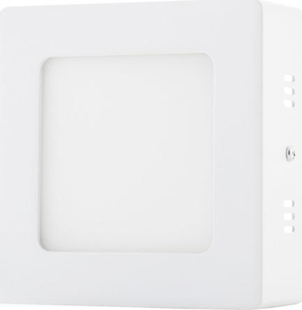 Biely prisadený LED panel 120 x 120mm 6W biela