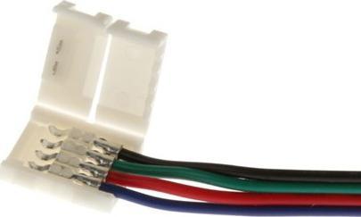 RGB Steckverbinder + Kabel + Steckverbinder für LED Streifen