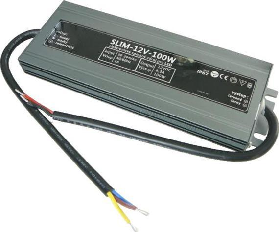 Außen Netzteil SLIM 12V 8,3A 100W IP67