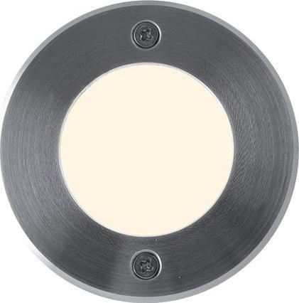 Bodeneinbaustrahler boden LED lampe 230V 1W 9LED Warmweiß