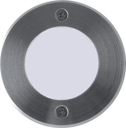 Nájazdové LED svietidlo do zeme 230V 1W 9LED studená biela