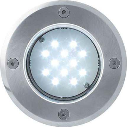 LED Bodeneinbaustrahler 230V 1W 12LED Kaltweiß