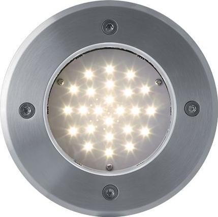 Nájazdové LED svietidlo do zeme 230V 2W 24LED teplá biela