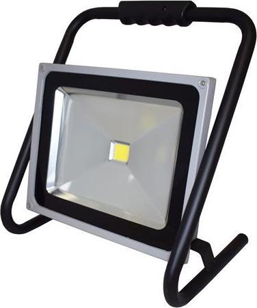 LED reflektor 50W so stojanom biela
