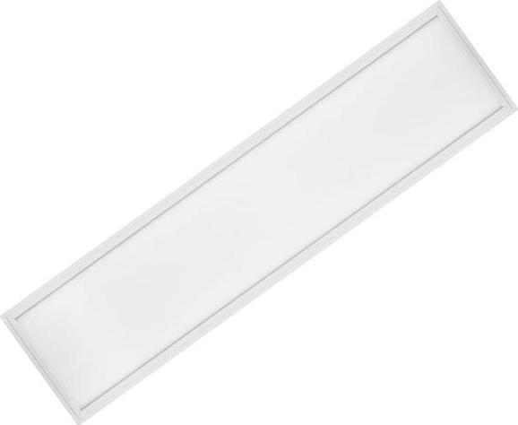 Weißes LED Panel mit Rahmen 300 x 1200mm 48W Warmweiß