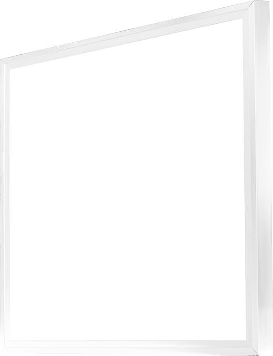 Weisser LED panel mit einem Rahmen 600 x 600mm 48W Warmweiß