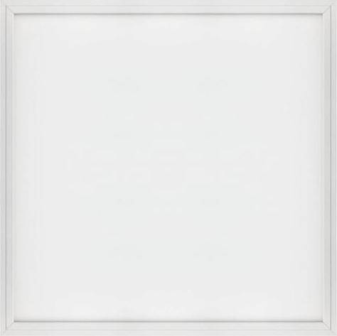 Weißes LED Panel mit Rahmen 600 x 600mm 48W Warmweiß