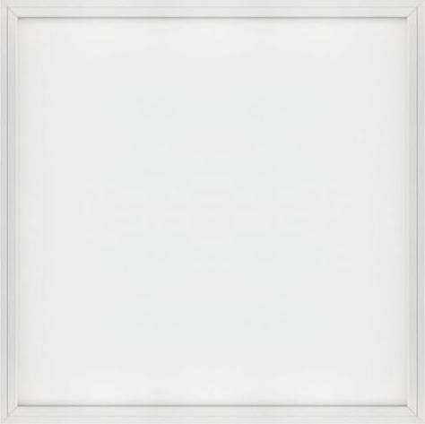 Weißes LED Panel mit Rahmen 600 x 600mm 48W Warmweiß (0-10V)